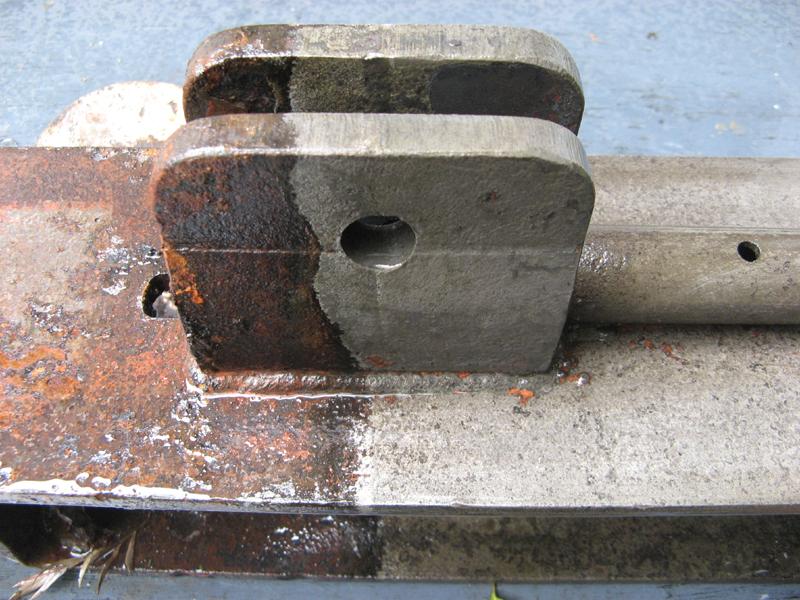 Phosphoric acid rust converter