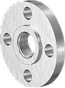 PEEK Threaded Flange