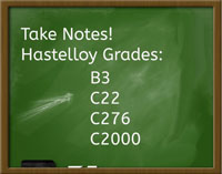 hastelloy grades small